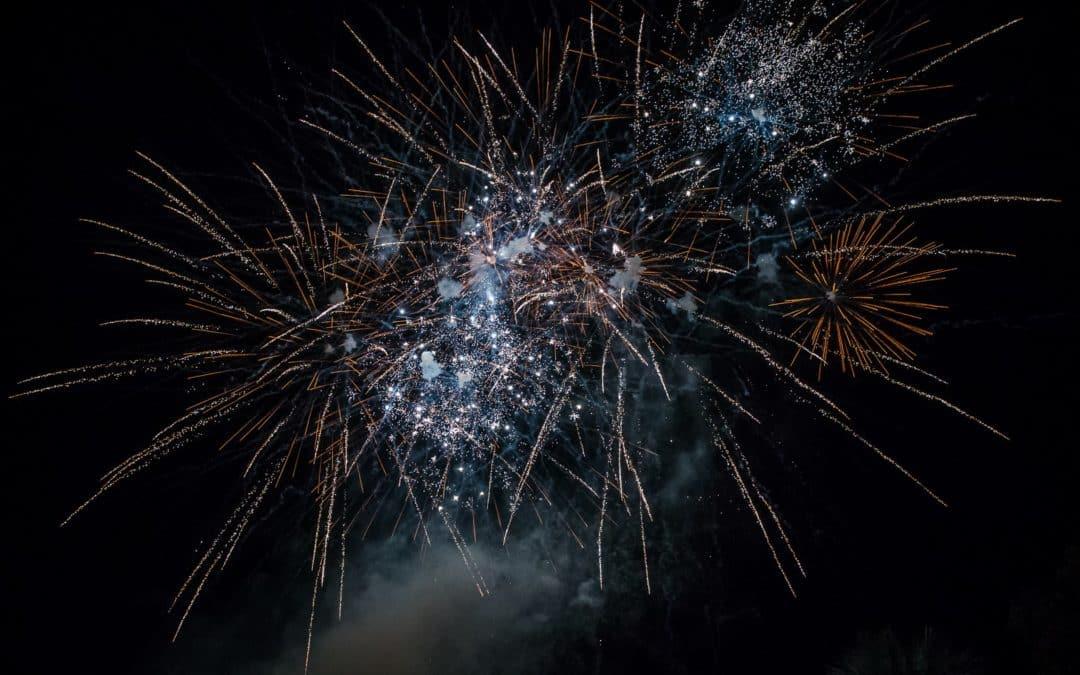 Gros feu d'artifice pour Saint-Paul-Lès-Durance