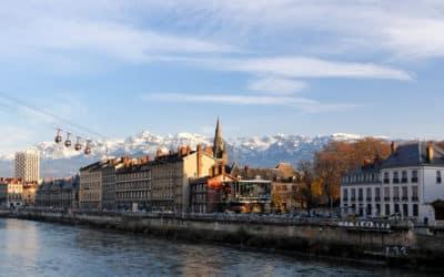 Feu d'artifice maison de retraite Grenoble