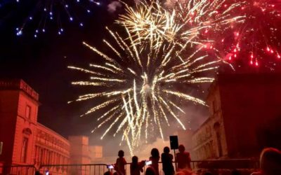 Feu d'artifice du 14 Juillet 2019 à Marsillargues