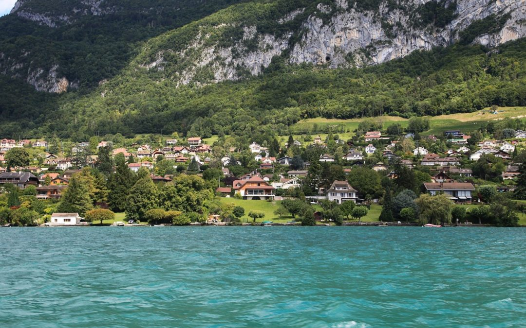 Feu d'artifice musical en Haute-Savoie