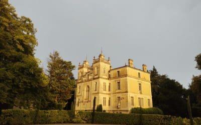 Feu d'artifice pour un mariage au Château des trois Fontaines
