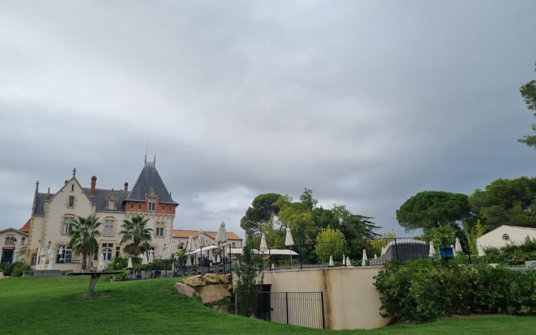Feu d'artifice pour une entreprise au Château Saint-Pierre-de-Serjac